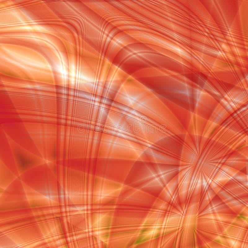 Fantasía roja stock de ilustración