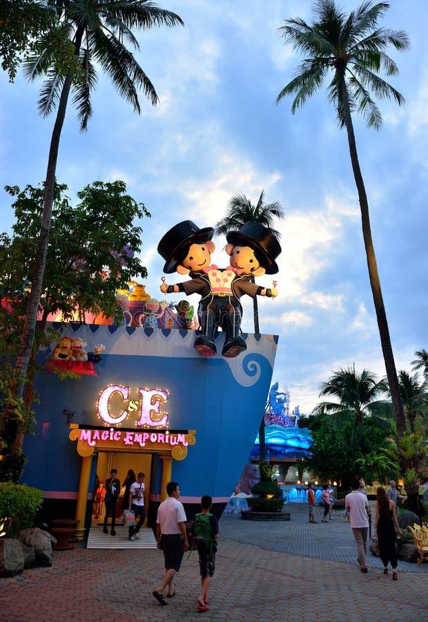 Fantasea, Phuket lizenzfreies stockbild