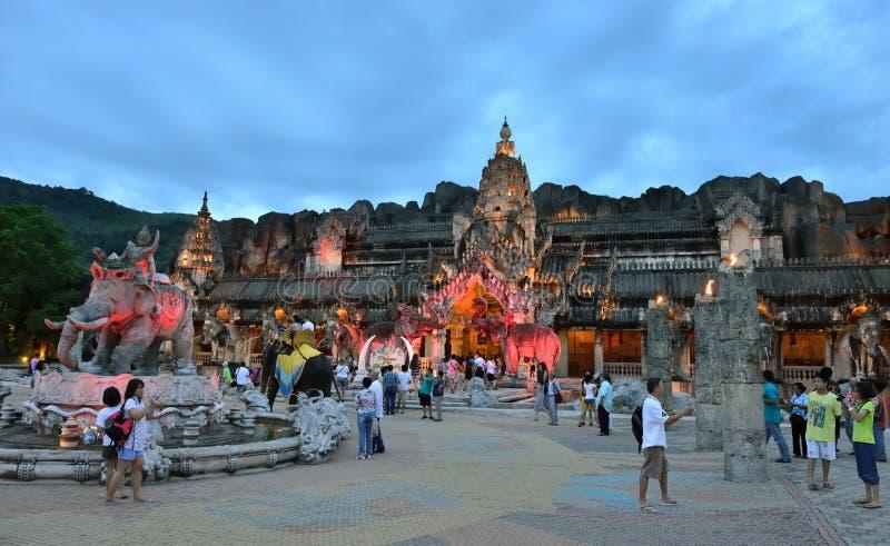 Fantasea, Phuket lizenzfreie stockbilder