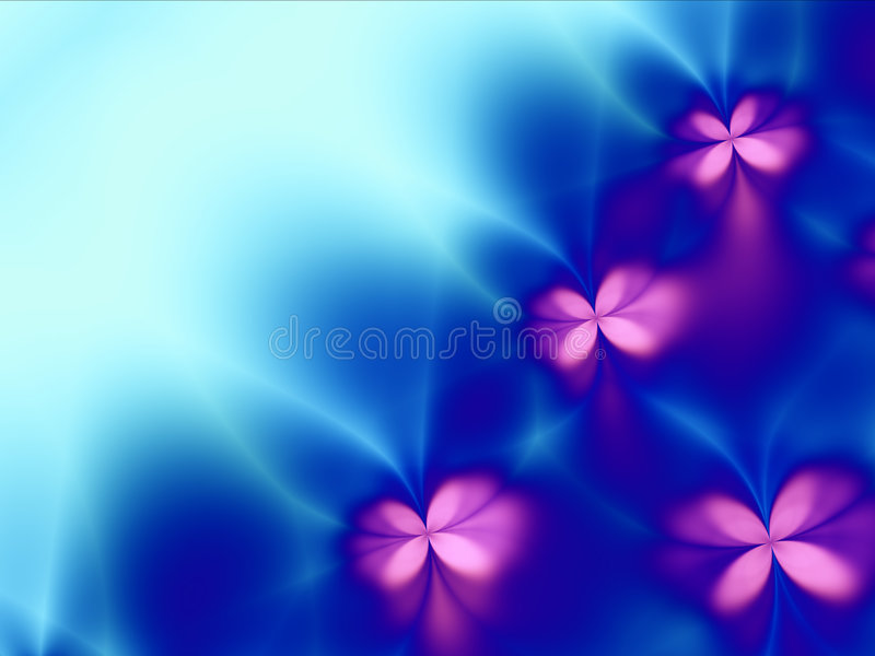 Fantasia de florescência ilustração stock