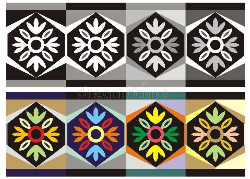 Fantasia del fiore - ornamento fotografie stock libere da diritti