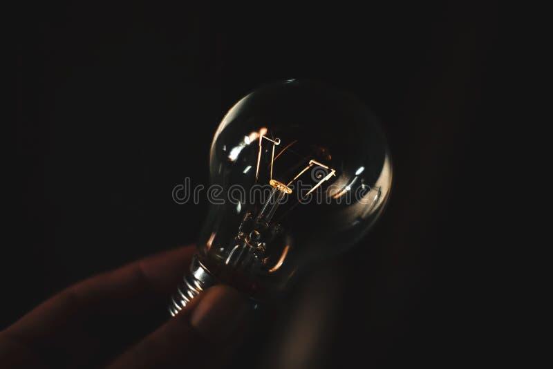 Fantasia della lampadina immagine stock