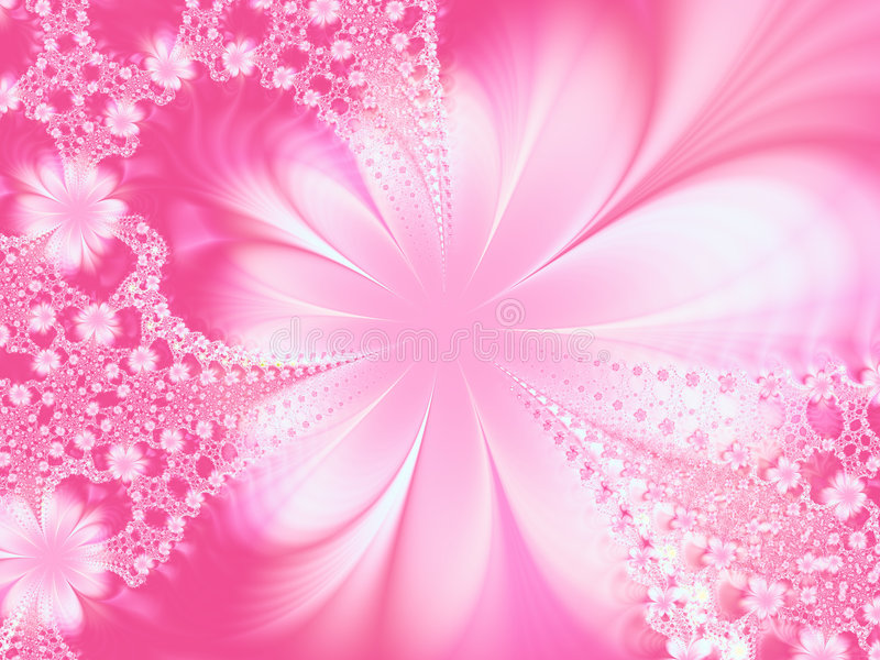 Fantasia di fioritura illustrazione vettoriale