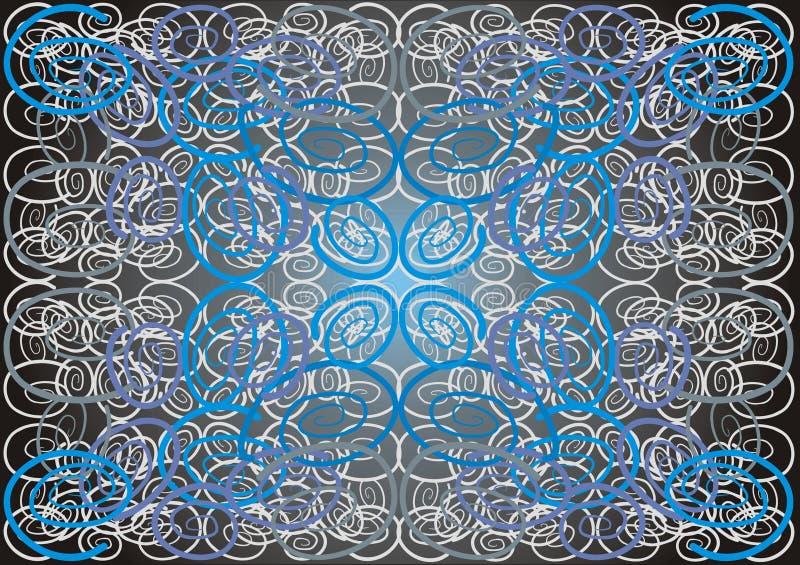 Fantasia espiral ilustração do vetor