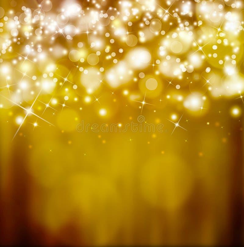 Fantasia festiva dorata fotografia stock libera da diritti