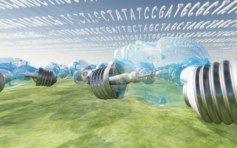 Fantasia genética ilustração do vetor