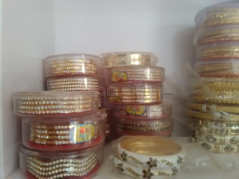 FANTASIA INDIANA & ORNAMENTO DE UNNATHI foto de stock