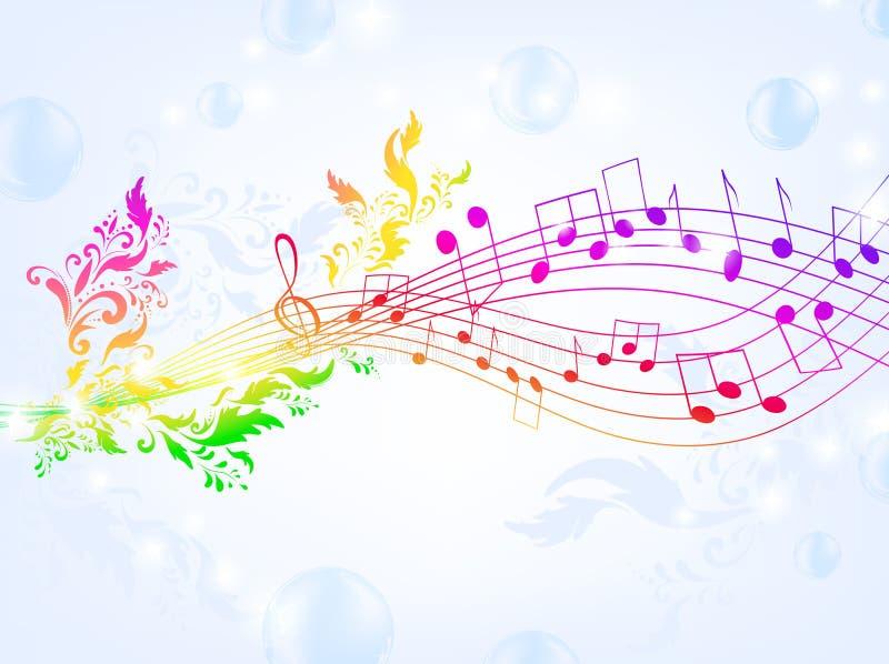 Fantasia musical ilustração stock