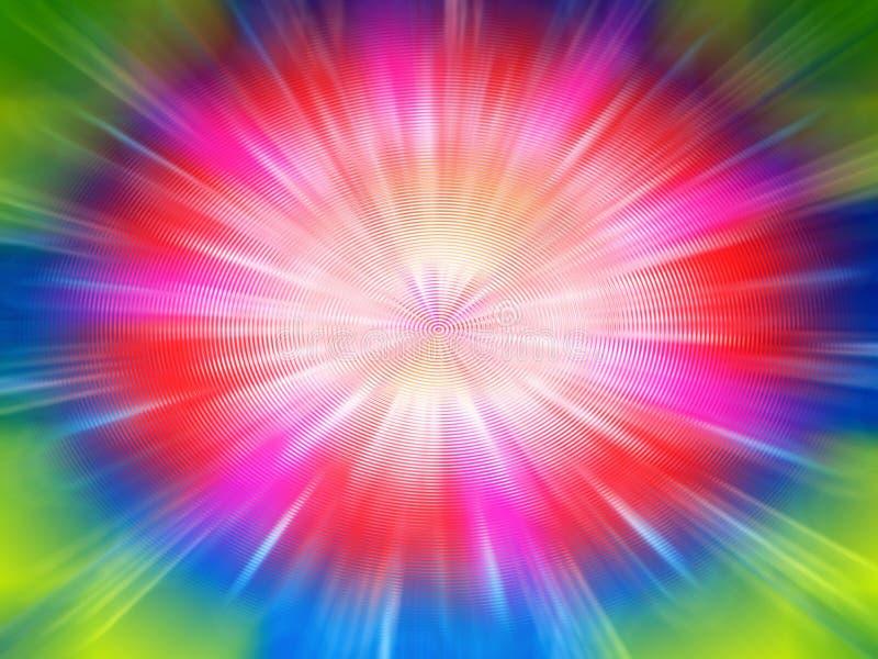 Fantasie-Farben-Unschärfe stockbild