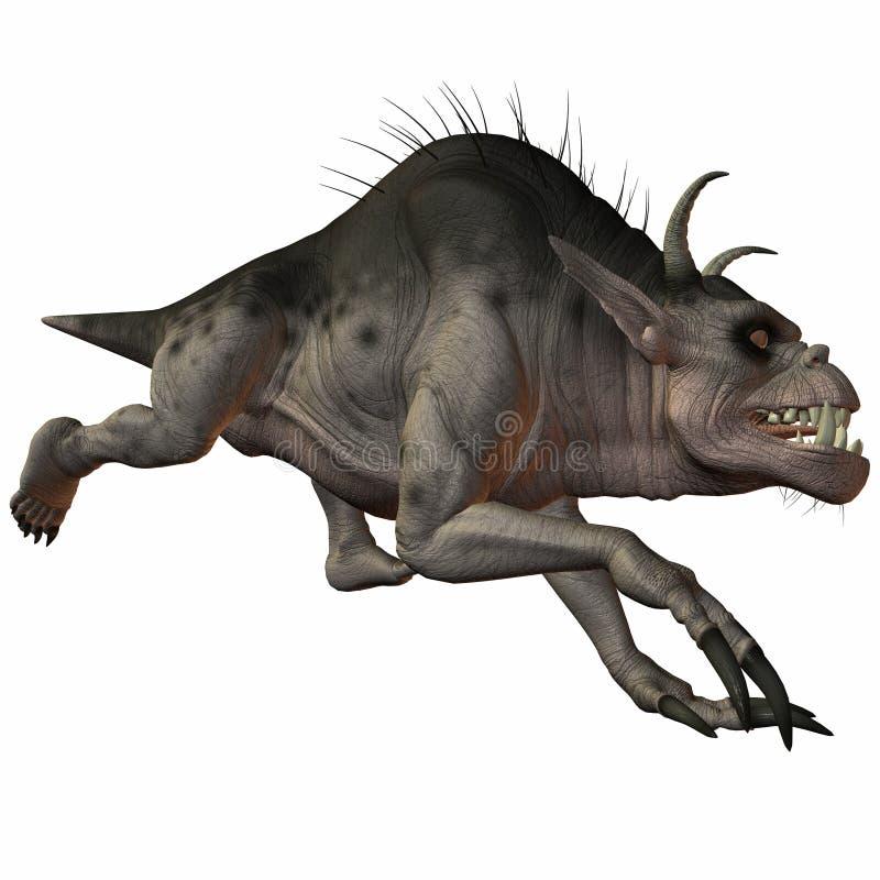 Fantasie-Monster vektor abbildung