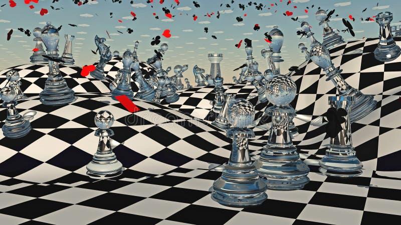 Fantasie-Schach vektor abbildung