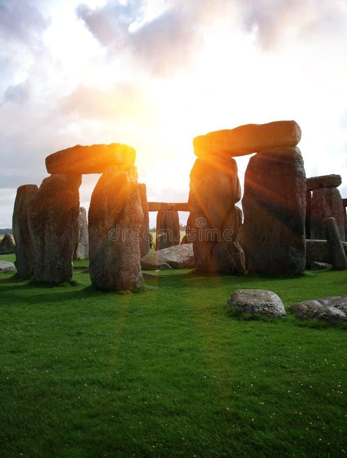 Fantasie Stonehenge lizenzfreie stockfotos