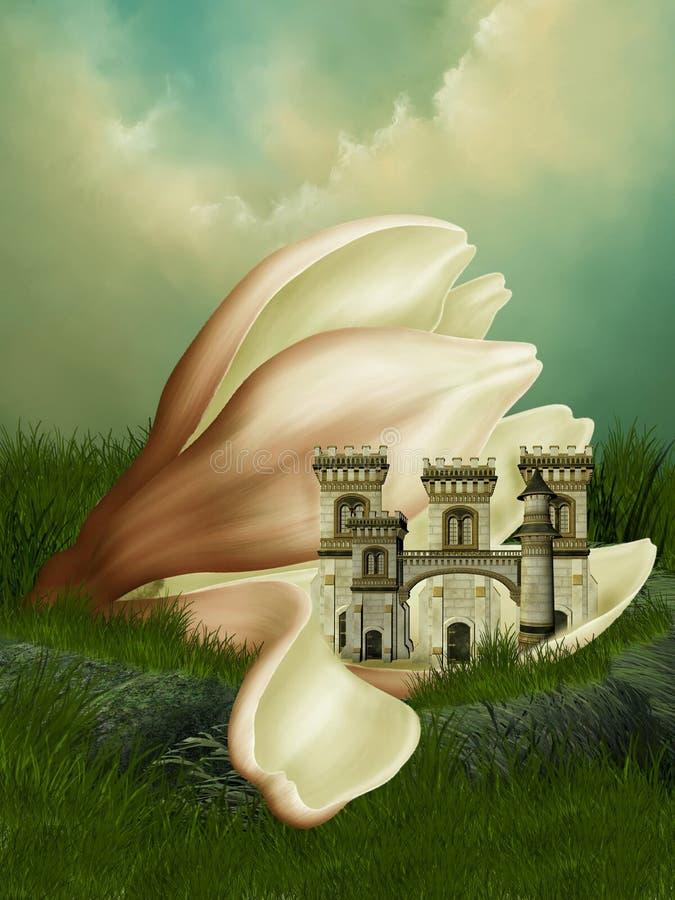 Fantasikungarike royaltyfri illustrationer