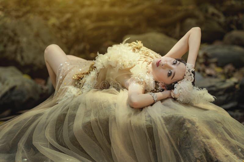 Fantasikvinna royaltyfri bild