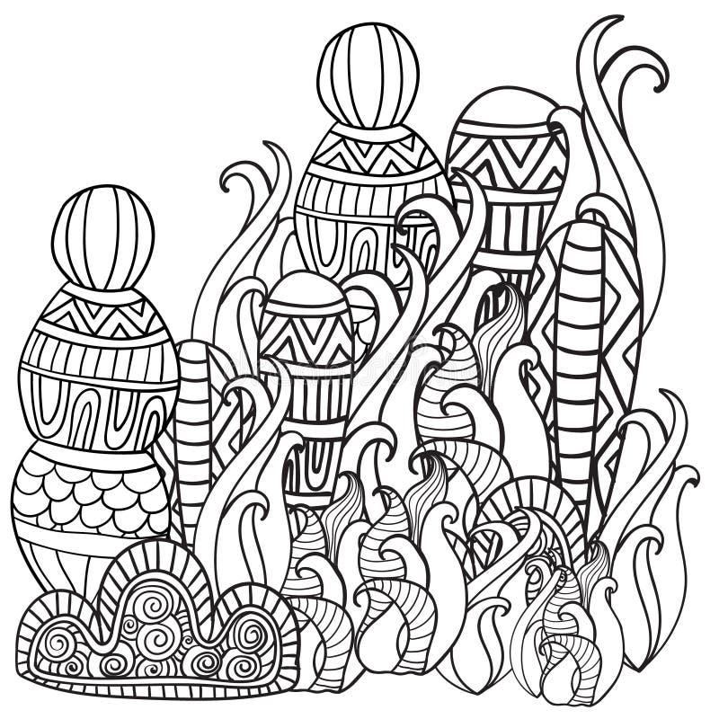 Fantasimagiskog stock illustrationer