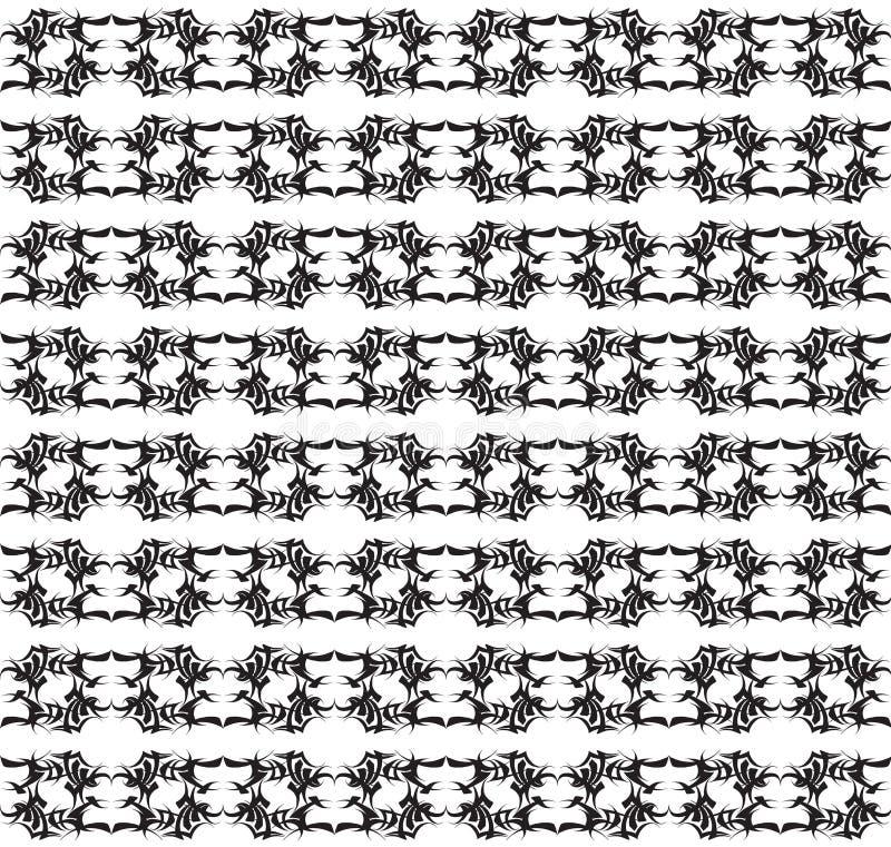 Fantasimallar krönar tiaror den symmetriska vattenfärgillustrationvektorn royaltyfri illustrationer