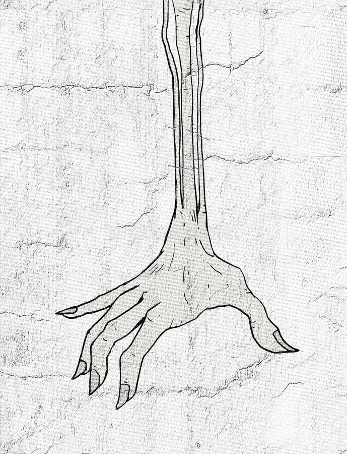 Fantasirikt tecken vektor illustrationer