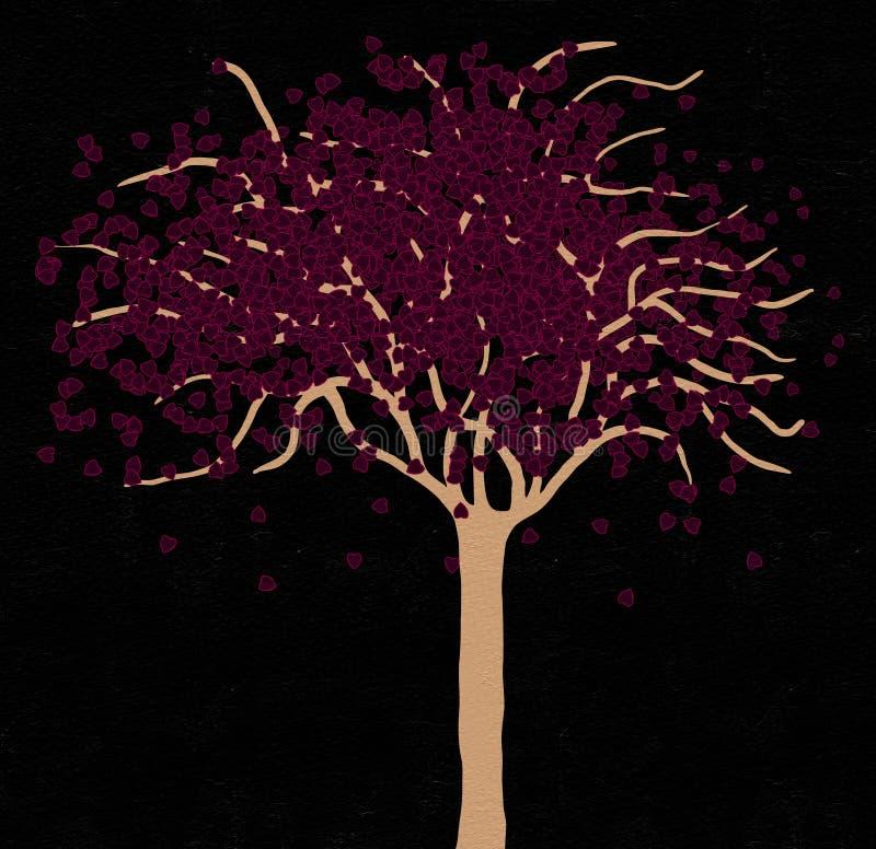 Fantasirikt träd vektor illustrationer