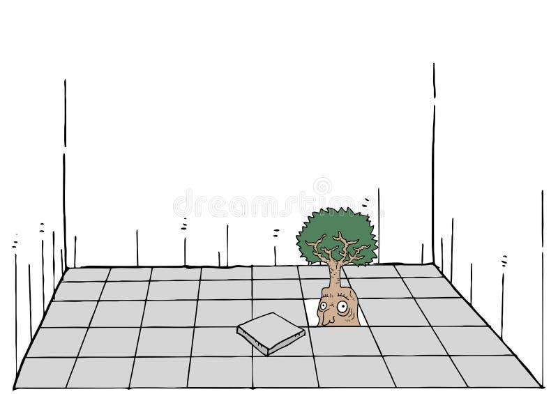 Fantasirikt träd stock illustrationer