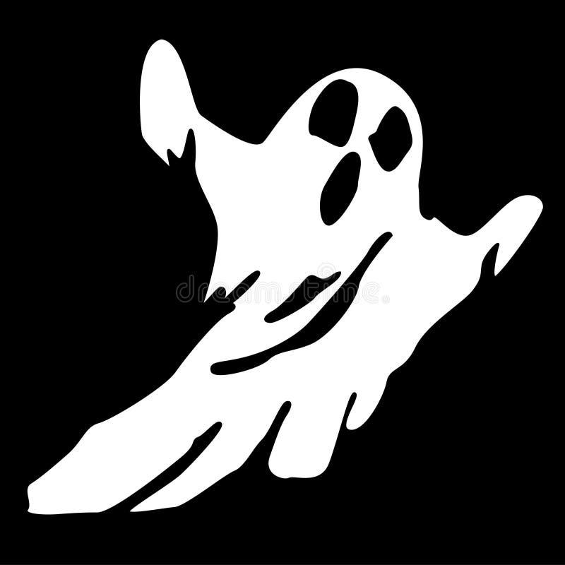 Fantasma asustadizo stock de ilustración