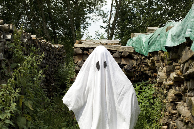 Fantasma branco imagens de stock royalty free