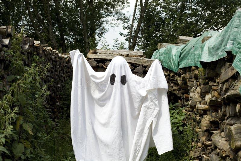 Fantasma branco fotos de stock royalty free