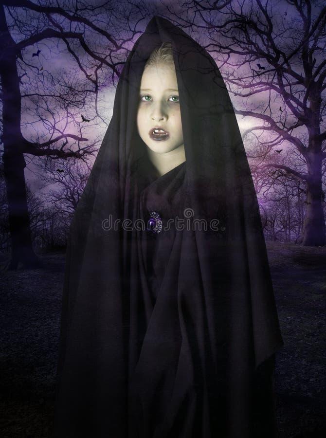 Fantasma da criança fotografia de stock