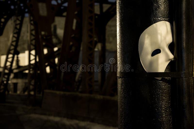 Fantasma da máscara de Opera foto de stock