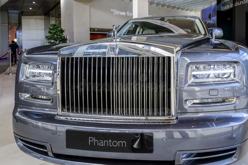 Fantasma de rolls royce imagens de stock royalty free