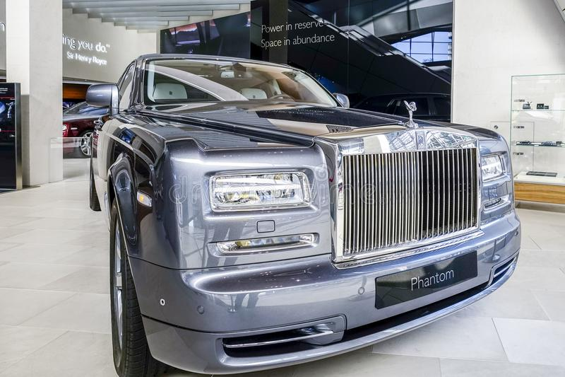 Fantasma de rolls royce fotos de stock royalty free