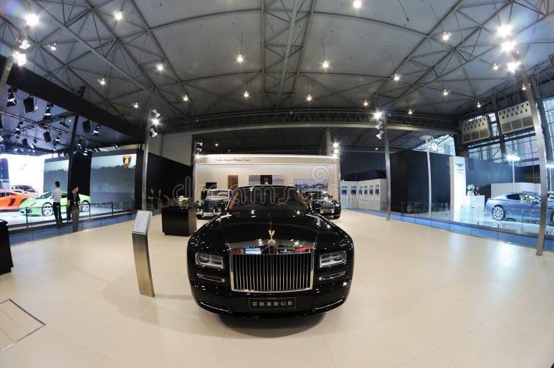 Fantasma de Rolls royce imagens de stock