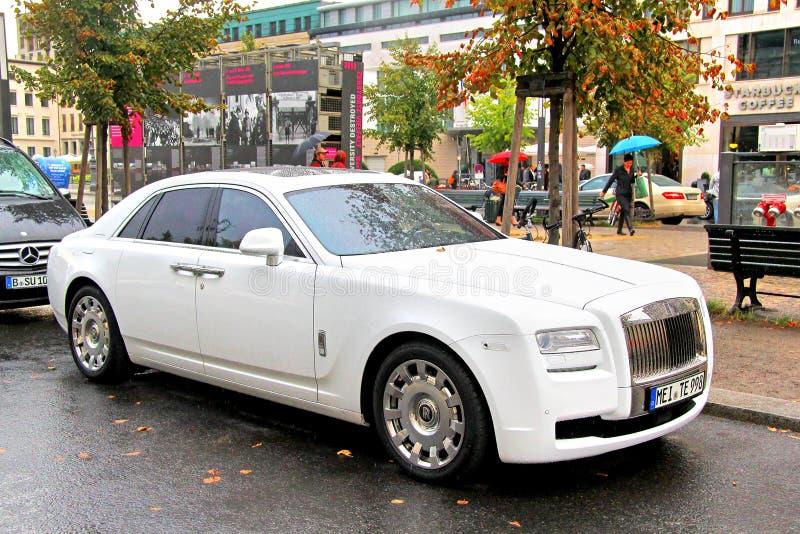 Fantasma de Rolls royce fotografia de stock royalty free