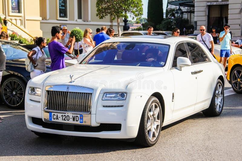 Fantasma de Rolls Royce foto de archivo libre de regalías