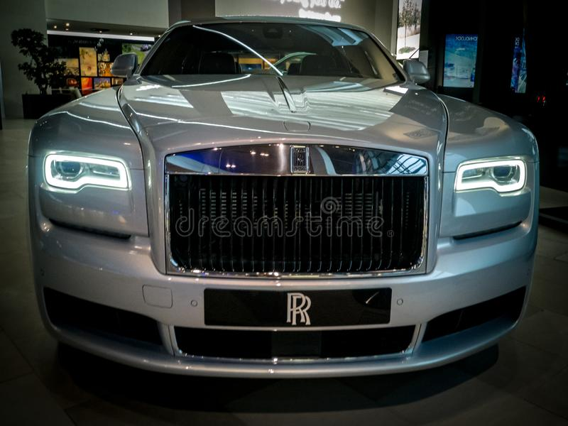 Fantasma della Rolls Royce fotografia stock libera da diritti