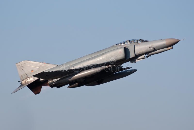 Fantasma di Luftwaffe F-4 fotografie stock libere da diritti