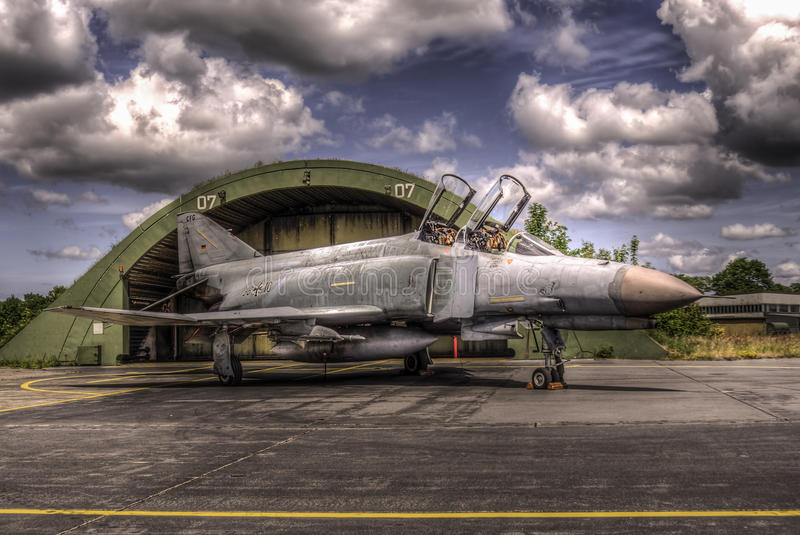 Fantasma di Luftwaffe F-4F fotografia stock