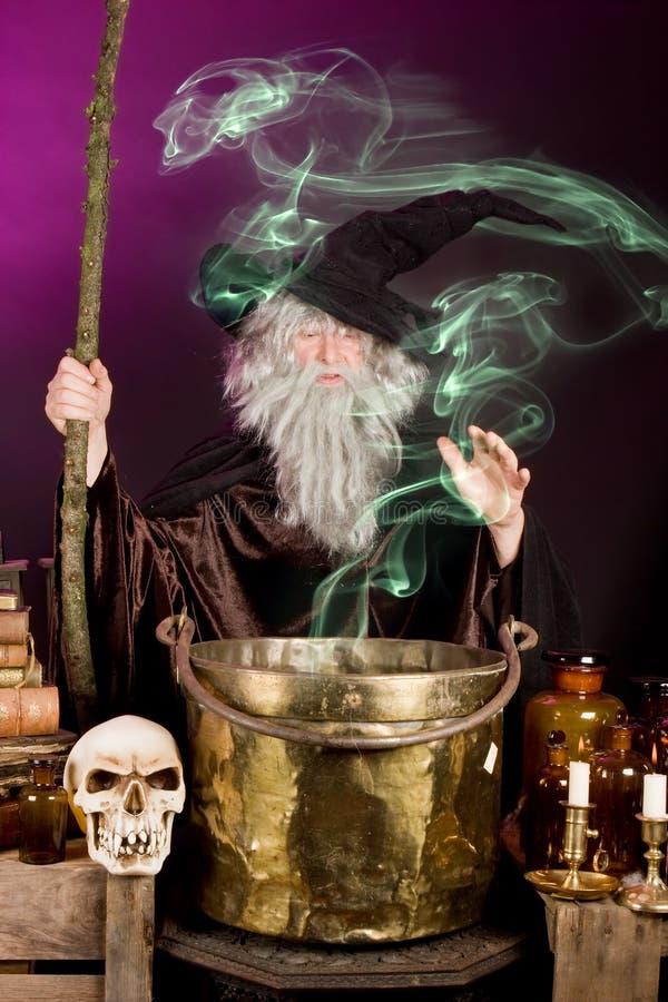 Fantasma do feiticeiro fotografia de stock royalty free