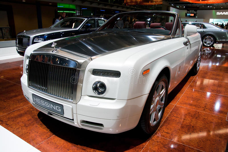Fantasma Drophead Coupé de Rolls royce foto de stock royalty free