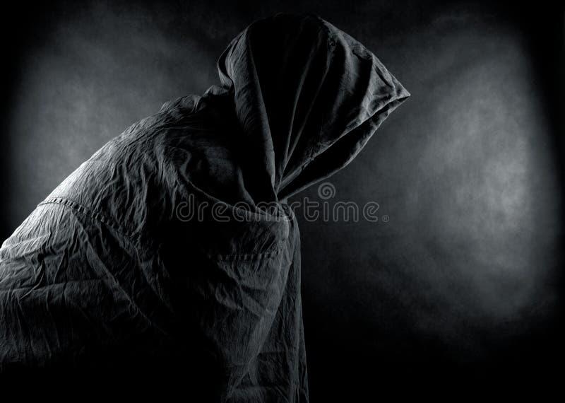 Fantasma en la oscuridad fotos de archivo libres de regalías