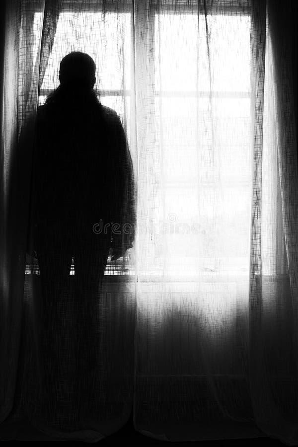 Fantasma escuro imagens de stock royalty free