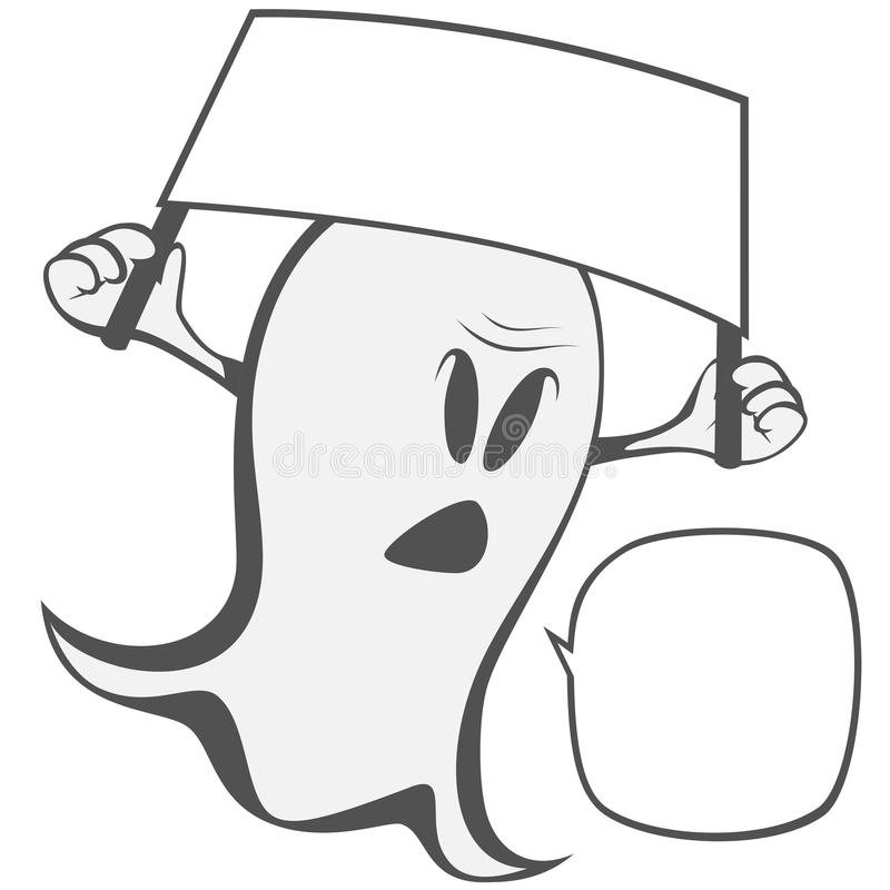 Fantasma extraño divertido libre illustration