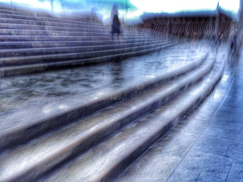 Fantasma lluvioso fotos de archivo