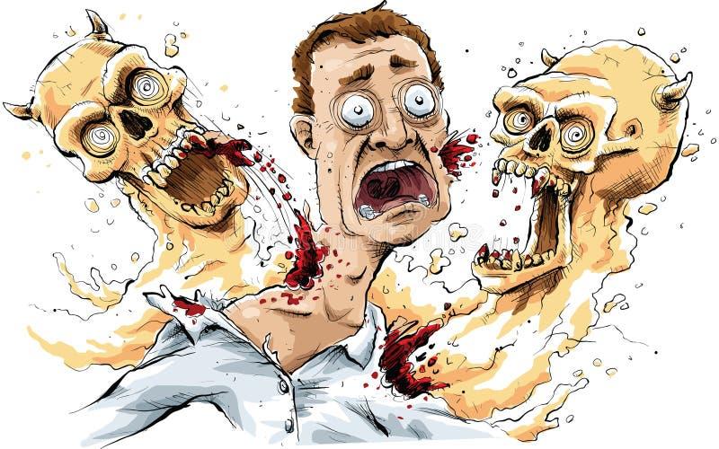 Fantasmi del carnivoro royalty illustrazione gratis