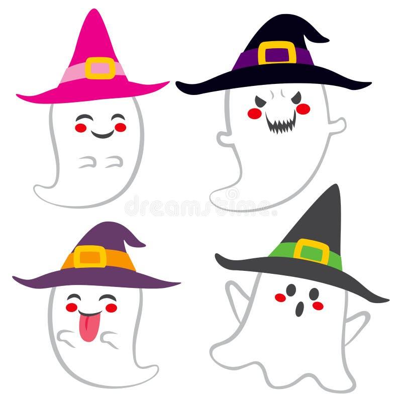 Fantasmi svegli della strega royalty illustrazione gratis