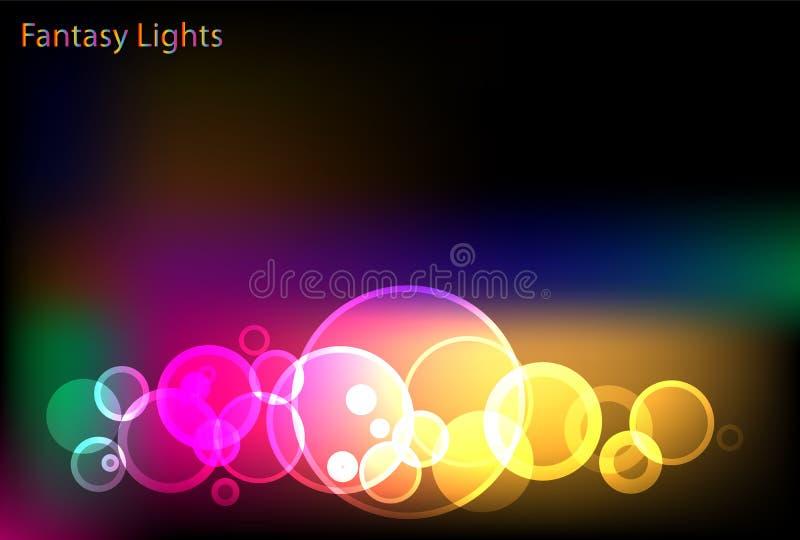 Download Fantastic background stock vector. Illustration of beam - 12880861