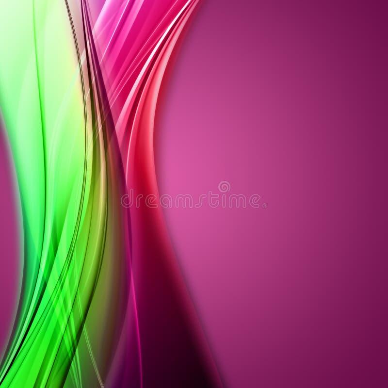 Fantastic background design stock illustration