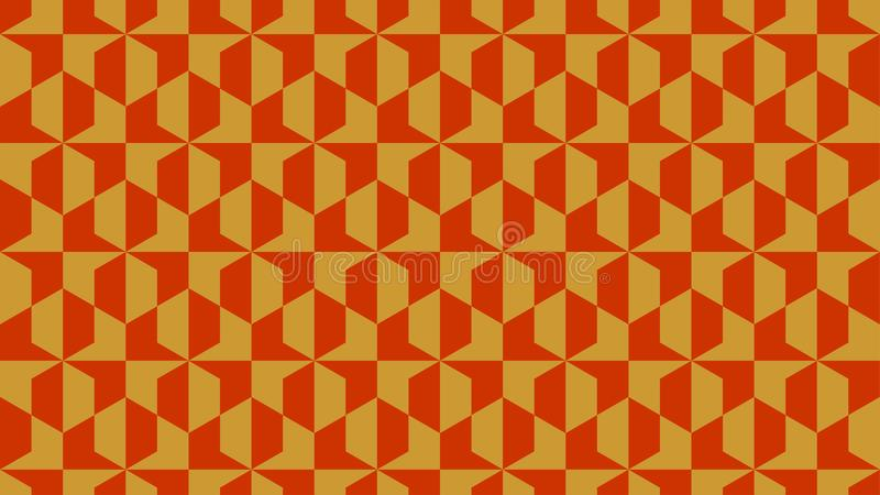 A magnificent background for hexagonal shaped group consisting of gold and orange color,abstract geometric pattern stock photos