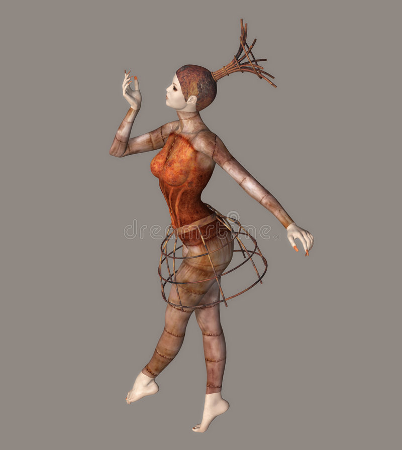 Download Fantastic Ballerina stock illustration. Image of beautiful - 5766441