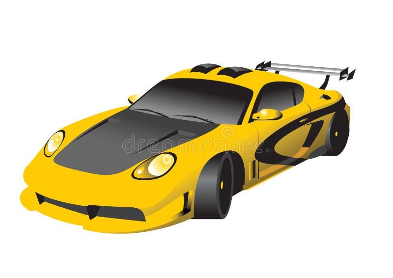 Fantastic Car Series royalty free illustration