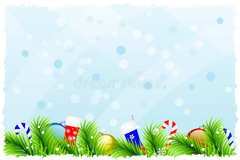 Download Fantastic Christmas Background Stock Vector - Image: 27772422